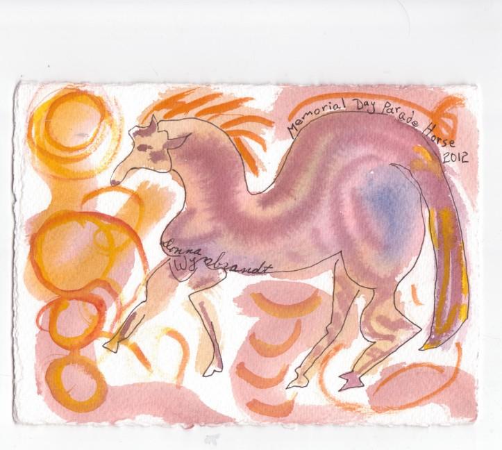 memorial day parade horse
